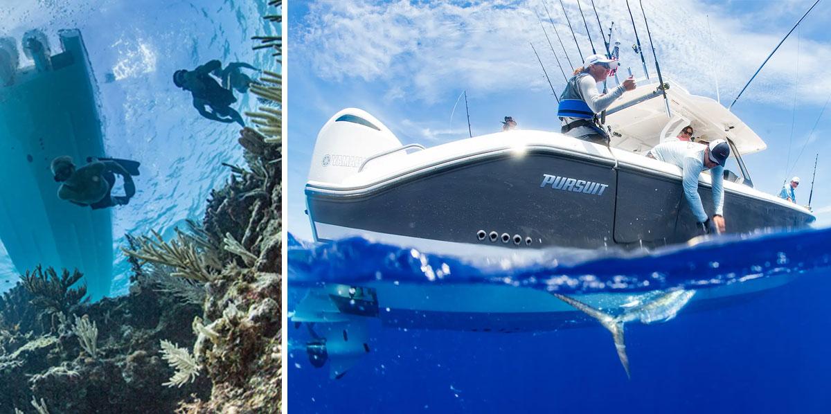 Apex Marine hosts exclusive activities.