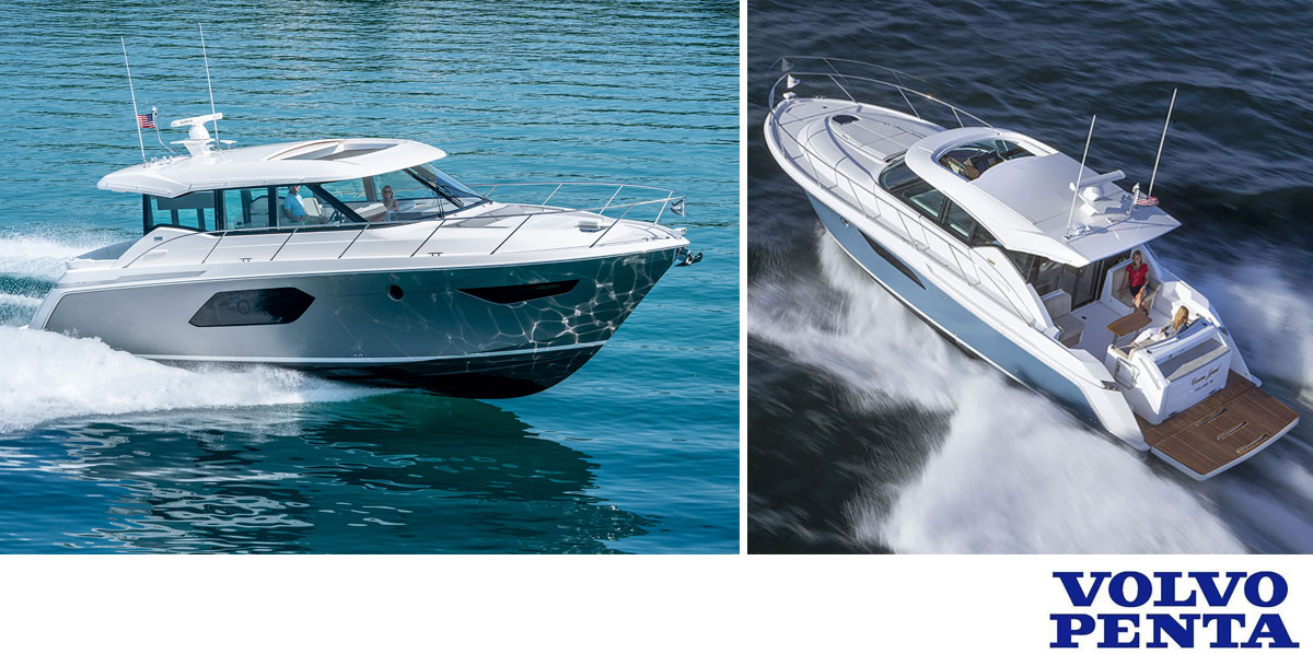 Tiara yachts Coupe Series.
