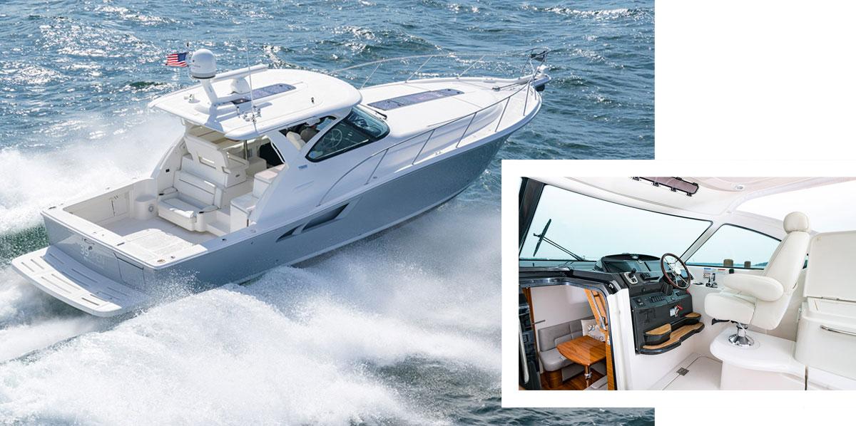 Tiara yachts Open Series.